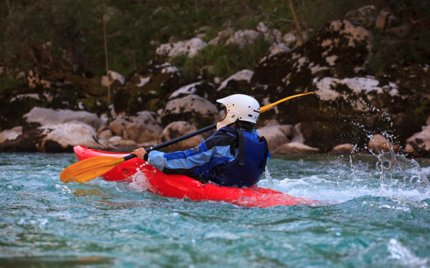 Rafting and canyoning in Bovec